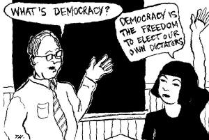 democracy dictators