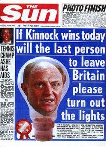 neil kinnock Sun