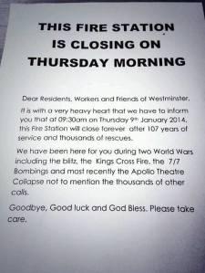 Station shuts