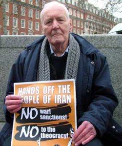 Hands off IRan Tony Benn