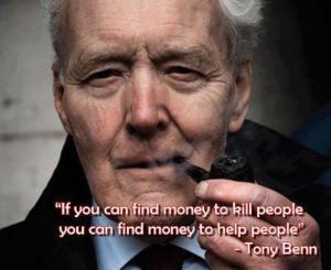 Tony Benn Money