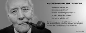 Tony Benn - Power