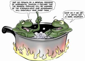 boiling frog theory