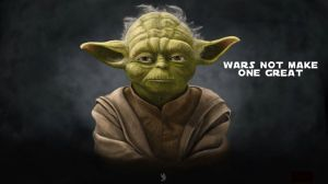 Yoda - wars not make one great