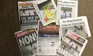 UK Newspapers war on freedom