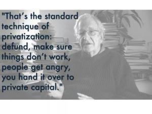 Chomsky Privatisation