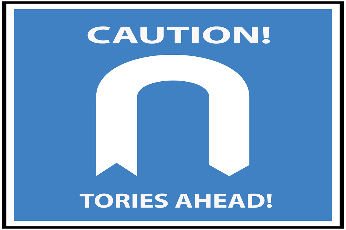 Caution Tories ahead