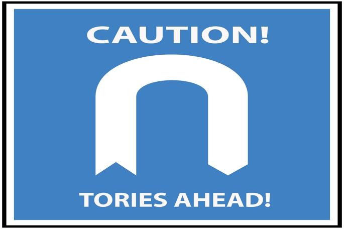 Caution Tories ahead